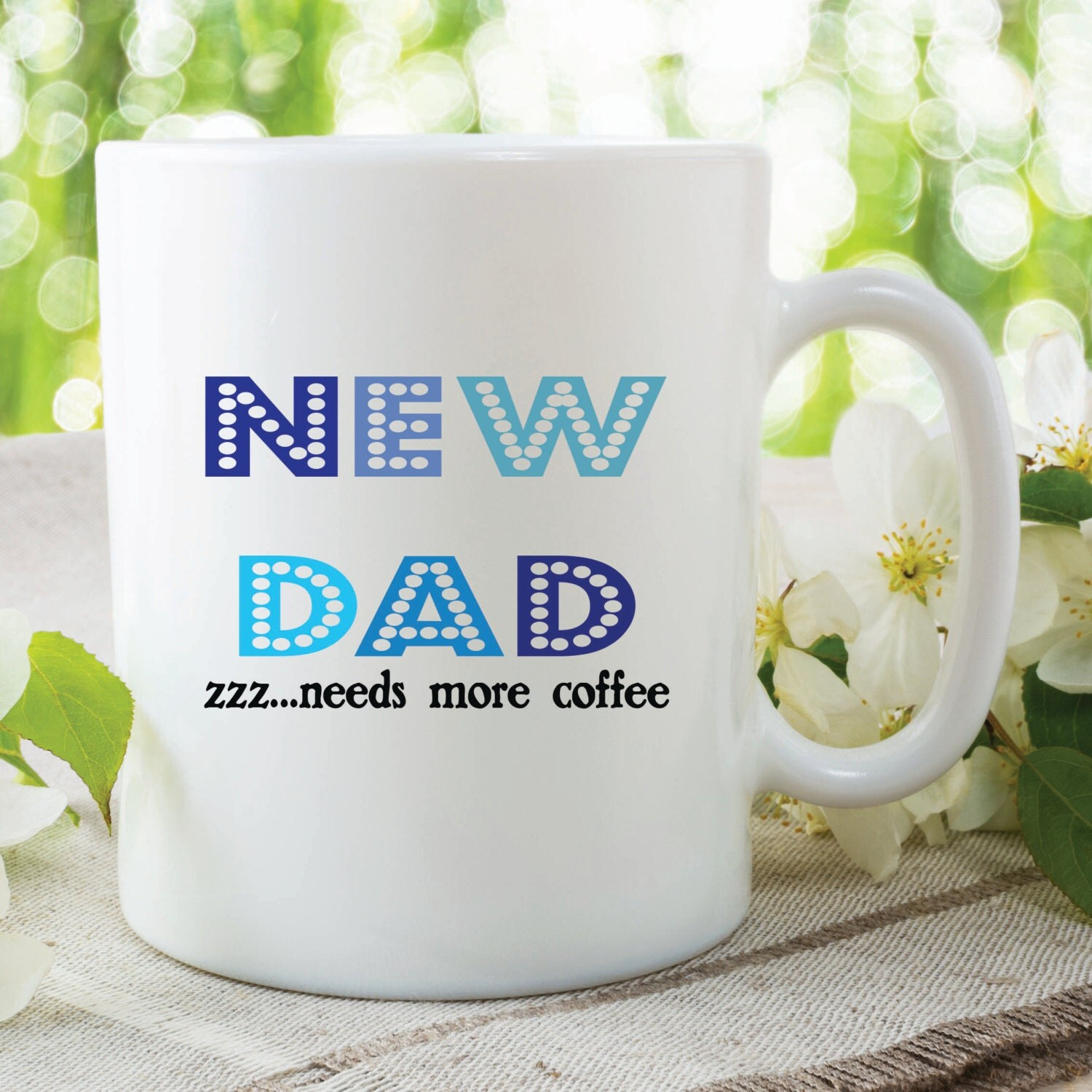 Baby Shower For Dad Gifts ~ New dad mug pregnancy gift baby shower need more sleep kitchen