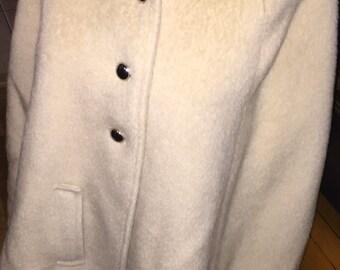 oh ja! fabulous vintage imported loden king alpine lodencoat mohair wool capelet western germany trachten bavaria waterproof