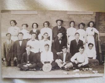 Vintage Group Photo Postcard