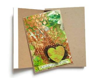 Birthday Card, Card, Birthday Card Girlfriend, Thank you Card, Anniversary Card, Greeting Card, Handmade Card, Handcrafted Card, Blank Card