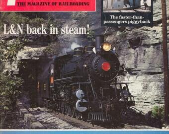 TRAINS MAY 1986 The Magazine of Railroading, Train Railroad Railroads Magazine!
