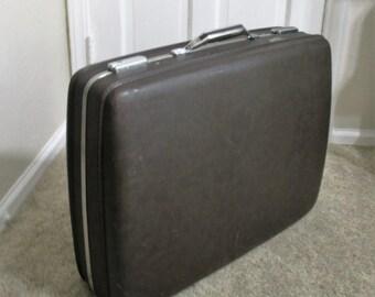 """24""""  Dark Brown American Tourister Tiara Suitcase"""