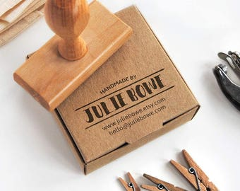 sello tarjeta de visita, sello personalizado logotipo, tarjeta visita DIY, sello hecho a mano, sello personalizado packaging, sello logotipo