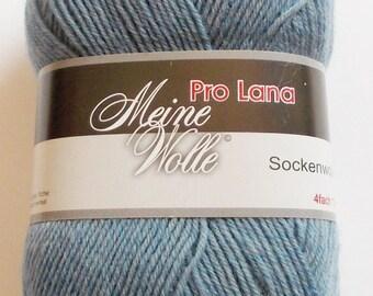 sock yarn 100g (5,-Euro/100g), light-blue, 4ply (406)