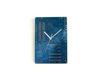Circuit board clock Etsy