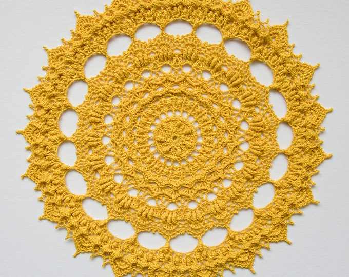 Crochet doily pattern LIV, Instant download