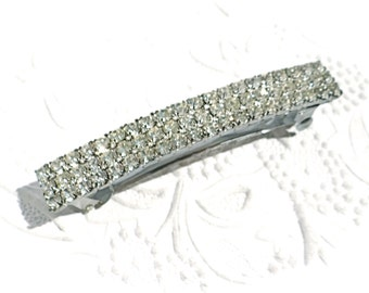 Vintage Rhinestone Barrette Hair Accessories VA-161