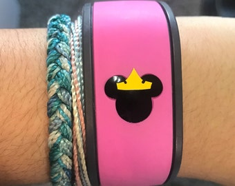 Princess Mouse Head with Crown Decal for the Magic Band, decal only - Magic Band Decals - Magic Band Stickers - Princess Mouse Decal - Decal