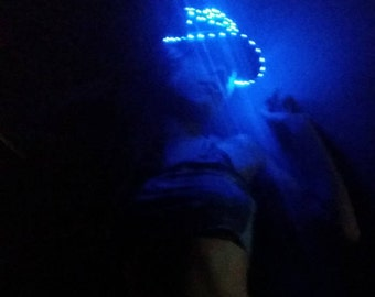 LED Hat - TWISTED LED Snapback Hat- Exclusive Light Up Glow Hat, also available in trucker style! Perfect for everything!