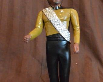 """Lt. Worf Collectors Doll 10"""""""