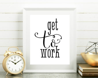 cute office decor | etsy