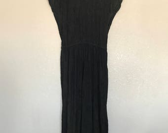 Black and green ombré Choon dress