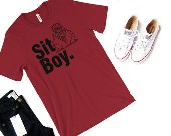 Inuyasha Sit Boy Shirt -- Kagome Kikiyo Anime Shirt Inuyasha Tshirt Cosplay Toonami Shirt Geekery Geek Shirt Tetsusaiga Sword Japanese Demon