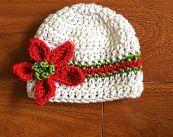 Holiday Winter Baby Hat