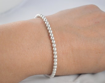 Beautiful 925 sterling silver ball Bracelet
