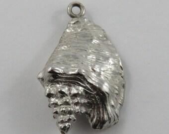 Freeport Conch Sterling Silver Vintage Charm For Bracelet