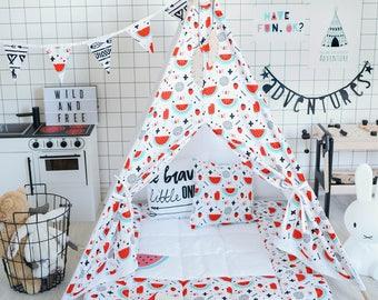 Teepee, Tipi, Tipi Enfant, Tipi Pour Enfant, Kids Teepee, Teepee Tent, Childrens Teepee, Tipi Tent, Teepee Tent Kids, Teepee With Mat