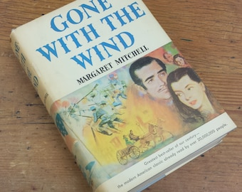 Gone with the Wind by Margaret Mitchell ~ 1936 Hardcover, Book Club Edition