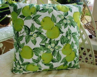 Cushion cover Green Apple