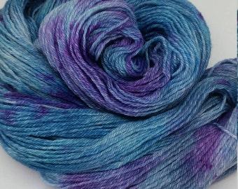 OOAK Auntie's Aurora - Tweed Sock Yarn - 100% Merino Wool - Ready to ship