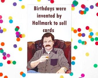 Ron swanson birthday Etsy