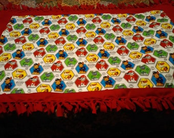 Paw Patrol Fleece No-sew blanket