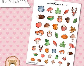 "Planners Stickers ""Autumn"""