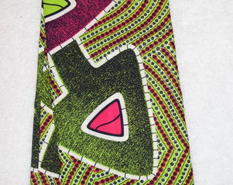 African Wax Print Fabric - Arrows Print (Sold by the yard)