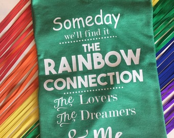 Rainbow Connection Muppets Disney Park Inspired Tee