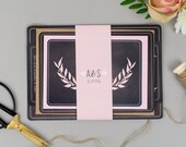 Chalkboard Wedding Invitation save the date rsvp menu place cards table numbers order of service  Modest Love SAMPLE PACK