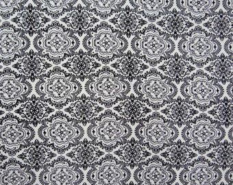 """Dressmaking Fabric, Floral Print, Home Decor Rayon Fabric, Sewing Craft, White Fabric, 53"""" Inch Apparel Fabric By The Yard ZBR314A"""