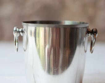 Vintage French Silverplated Ice Bucket