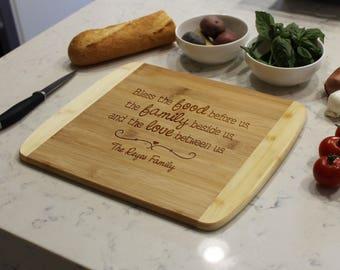 Personalized Cutting Board, Custom Cutting Board, Engraved Cutting Board, Cutting Board, Custom Wedding Gift --CB-BAM-REYES