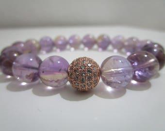 Ametrine, Ametrine bracelet, bracelet of semi-precious stones, bracelets, bracelet for usher, gift for women, jewelry for women, jewelry