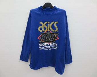 asics sweatshirt womens Blue