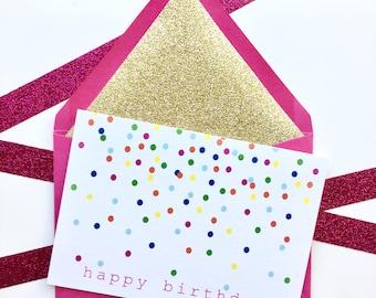 Birthday Card, Happy Birthday Card, Cute Birthday Card, Pretty Birthday Card, Birthday Card for Friend