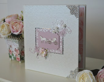Wedding album, Wedding photo album, Elegant wedding album, Photo album, Wedding photo book, Special wedding gift, Bridal shower gift