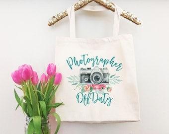 Funny Photographer Gift - Funny Grocery Bag - Shopper Bag - Canvas Tote Handbag - Everyday Bag - Camera Tote Bag - Camera Bag - Photography