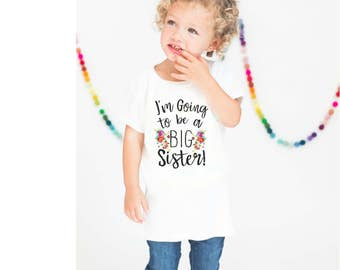 Big Sister Shirt. Pregnancy Announcement Shirt. Kids Big Sister Shirt. Sibling Shirt. New Big Sister Shirt. Big Sister. Max and Mae Kids