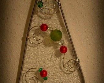 Stained Glass Tree Sun Catcher