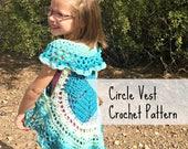 Circle Vest Crochet PATTE...