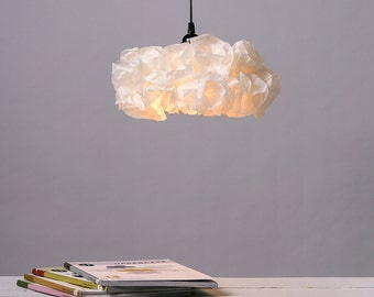 Ceiling light, Ceiling Paper Pendant lamp, Pendant Light, Paper Lamp, Dinning Room Decor, Lamp shade, Ceiling Light Fixture, FREE SHIPPING