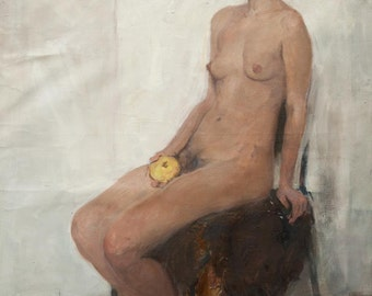 Nude, 46x32.6 inches