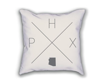 Phoenix Home Pillow - Arizona Pillow, Arizona Home Decor, Phoenix Home Decor, Arizona Home Pillow, Arizona Throw Pillow