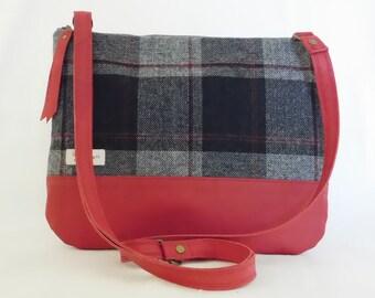 Plaid crossbody bag | Etsy