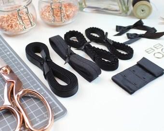Bra & Pantie Findings Kit - Black