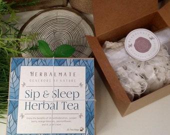Sip and Sleep Herbal Tea / Relaxed Restful Nights