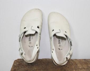 vintage birkenstock 36 | birkenstock tokyo | birkenstock clogs | vintage clogs | leather sandals | leather slip on | slingback clogs