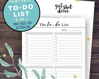 To do list notepad | Etsy