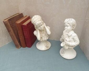 Music Figurines - Universal Statuary, Saxophone Player, Vintage Statuary, Vintage Universal Statuary, J Kendrick Statue, Universal Figurines